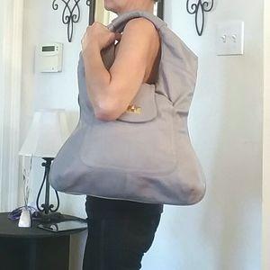 Bulga Leather Shoulder Bag